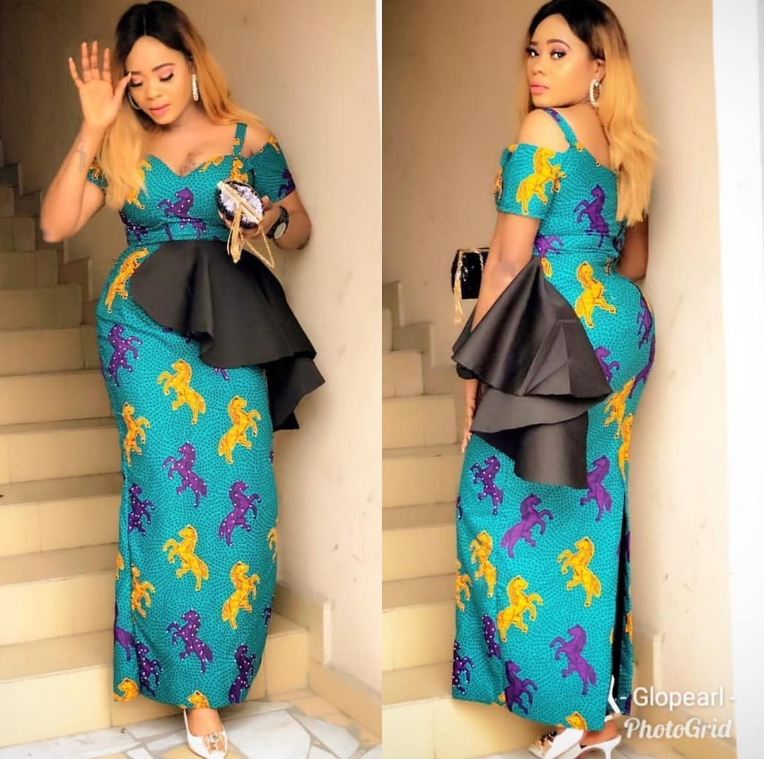 Latest Ankara Long Gown Styles 2019: 21 Latest Long Gown