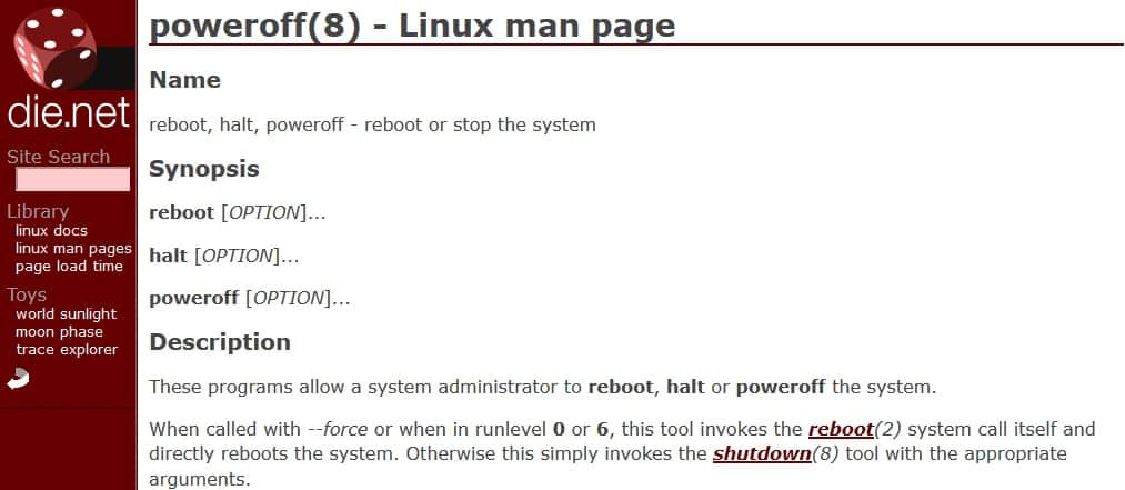 How to use Linux commands line to reboot, restart and