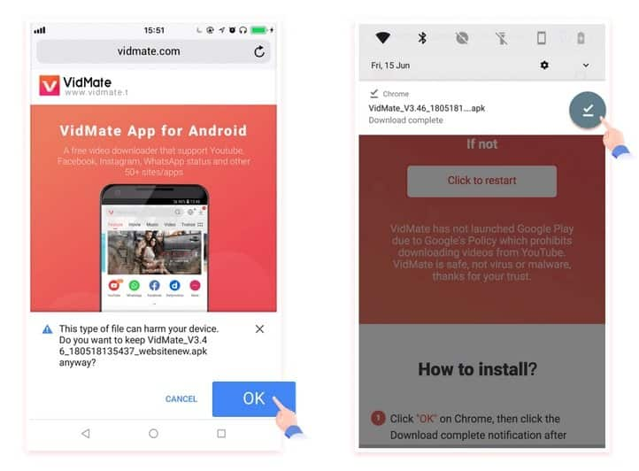 Vidmate apk app: How to download and install the latest version