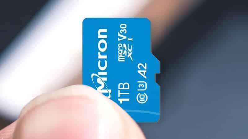 SanDisk Extreme microSDXC 1TB microSD card