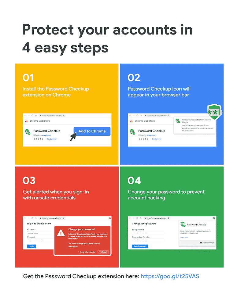 chrome password checkup extension