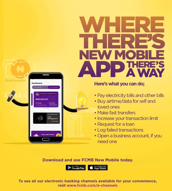 fcmb new mobile app
