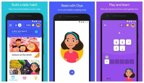 Google Bolo speech-based tutor app