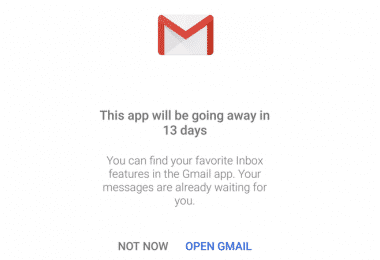 Inbox by Gmail Is Officially Shutting Down
