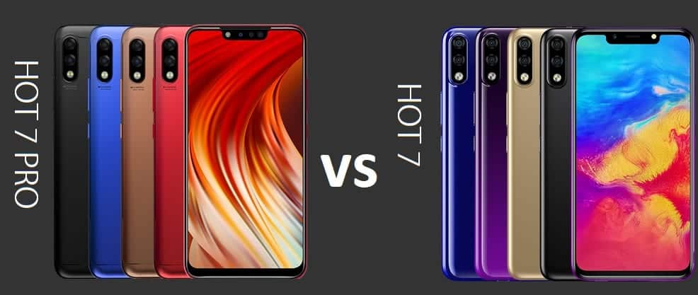 Infinix HOT 7 vs Infinix HOT 7 PRO - Is there any difference?