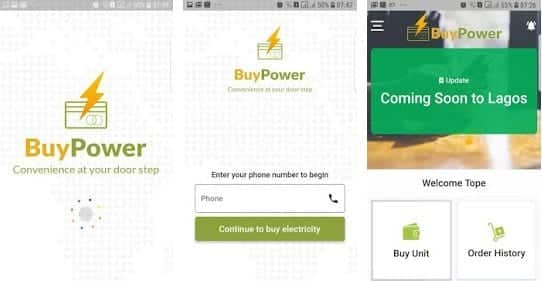 buypower pay electricity bills online