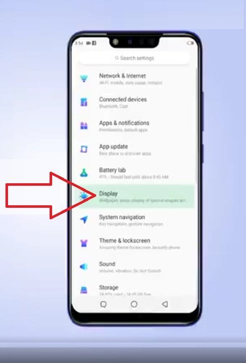 How to turn off the Notch on Infinix Hot 7