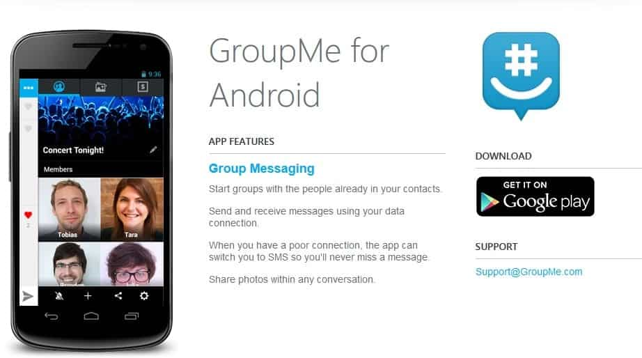 GroupMe for Android