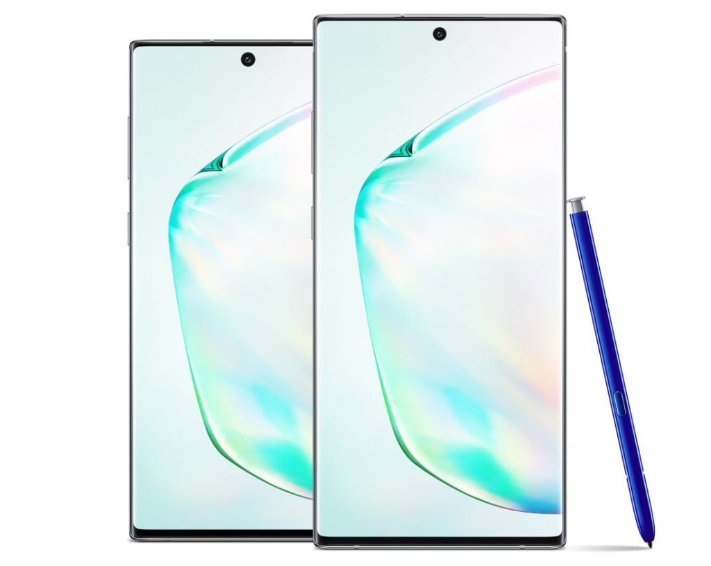Samsung Galaxy Note 10 and Galaxy Note 10 Plus