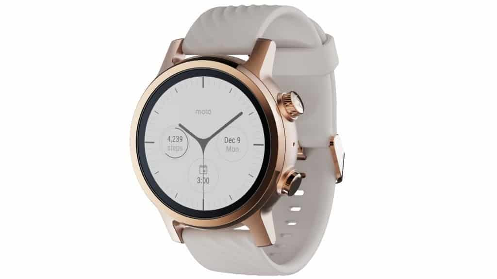 Moto 360 3rd Generation smartwatch