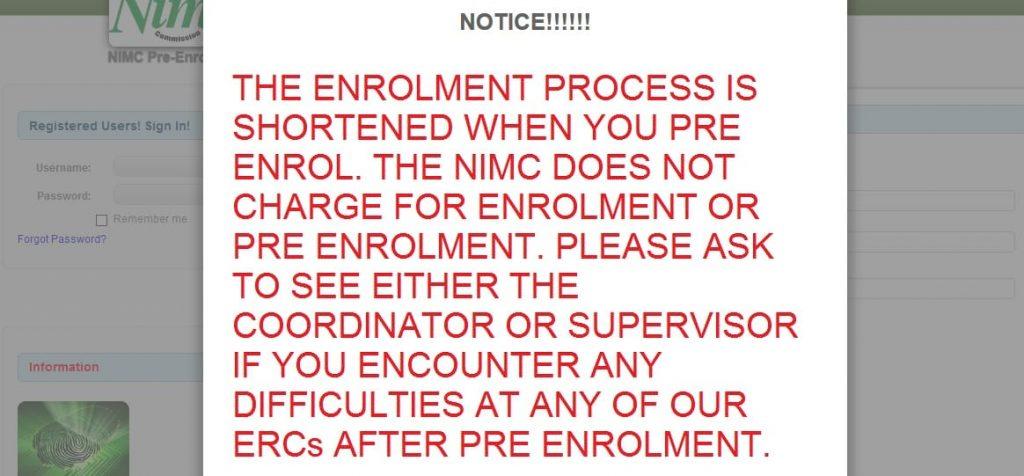 NIN Registration Process