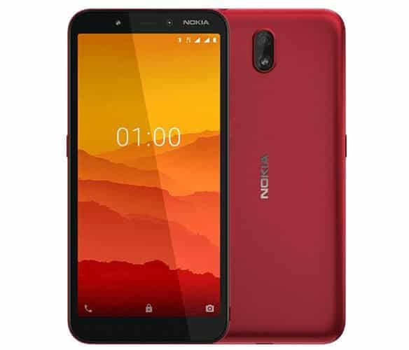 Nokia C1 Android GO 3G phone