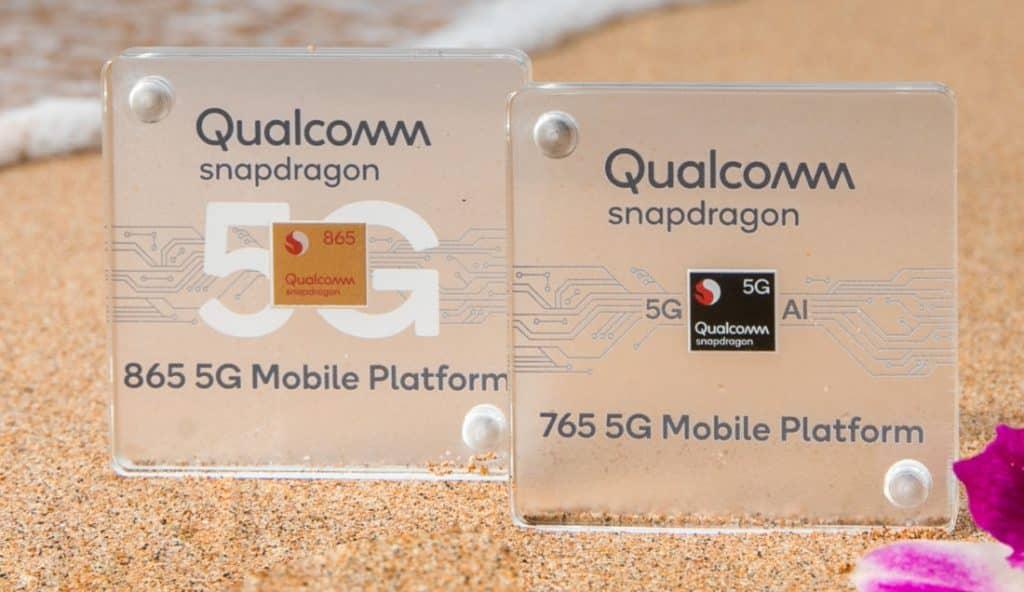 Snapdragon 865 and 765 5G