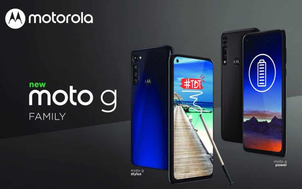 Moto G Power and Moto G Sylus