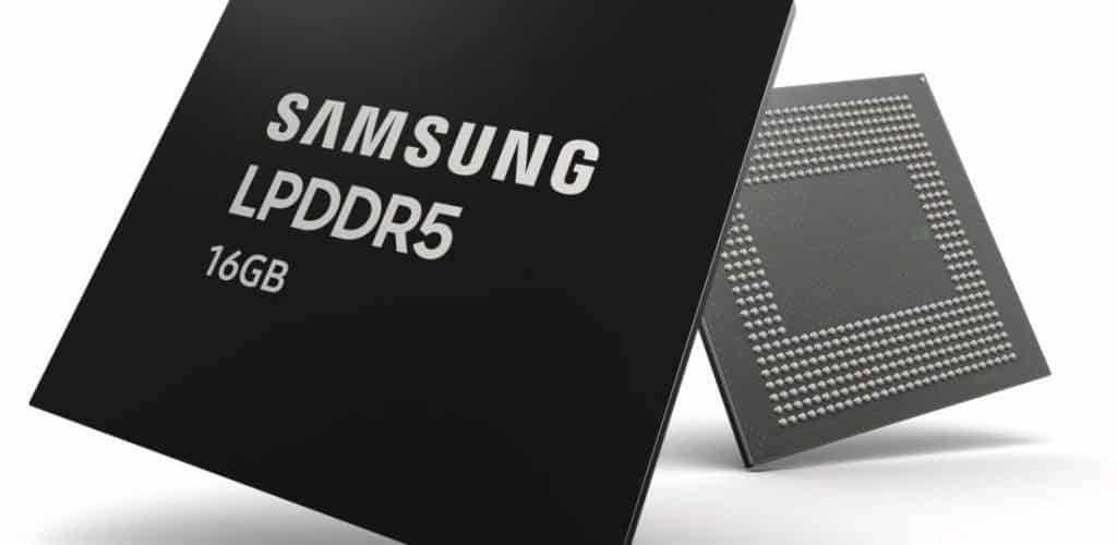 Samsung 16GB LPDDR5 DRAM