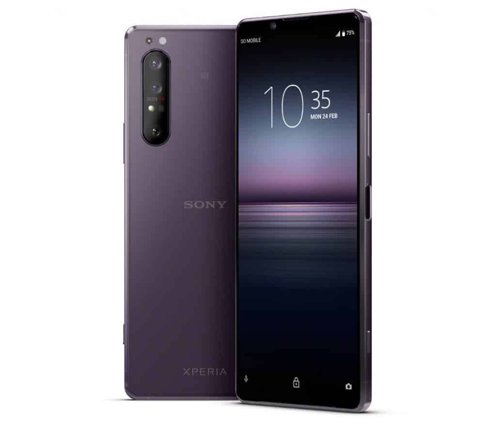Sony Launched Flagship Xperia 1 Ii With 5g Modem And