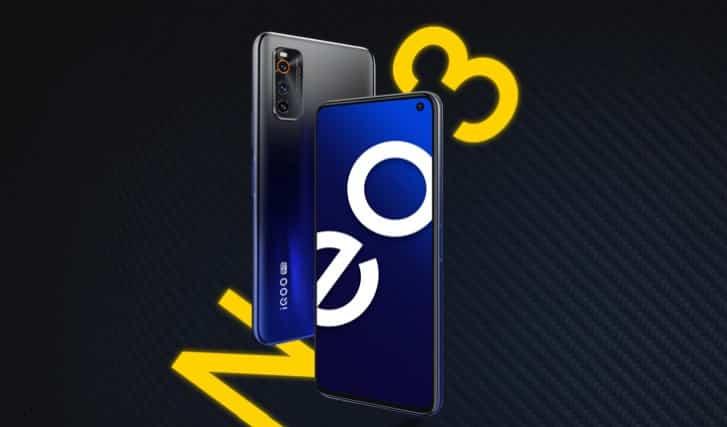 iQOO Neo3 5G phone