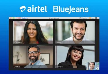Airtel BlueJeans video conferencing app