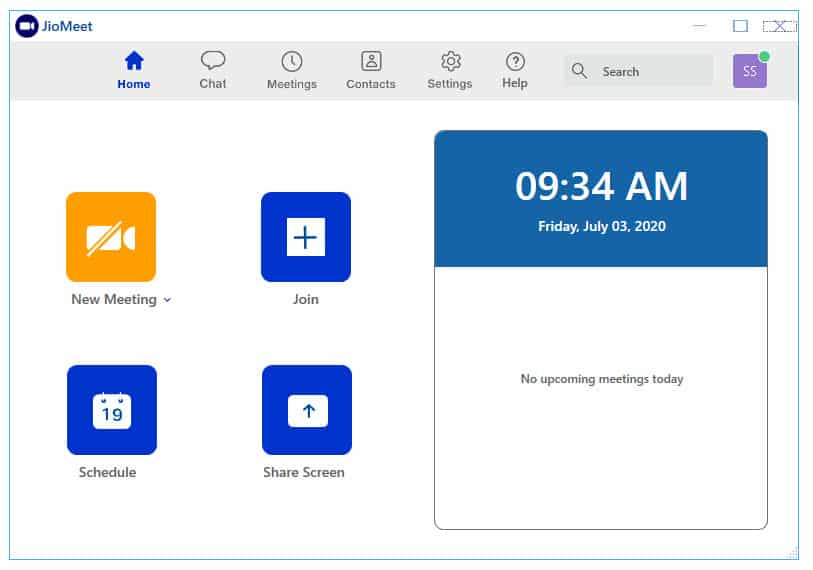 JioMeet Desktop