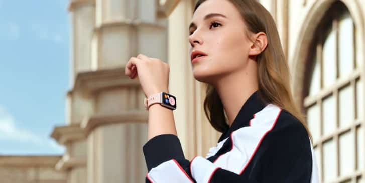 HUAWEI Watch Fit with rectangular face