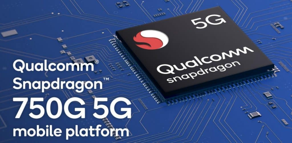 Qualcomm Snapdragon 750G 5G Mobile Platform