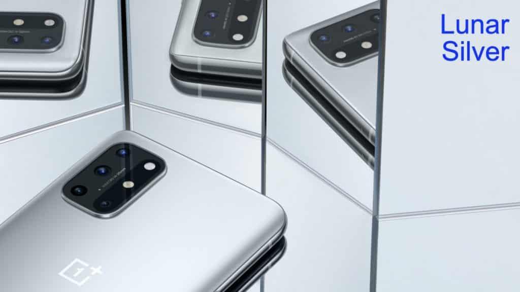 OnePlus 8T in Lunar Silver
