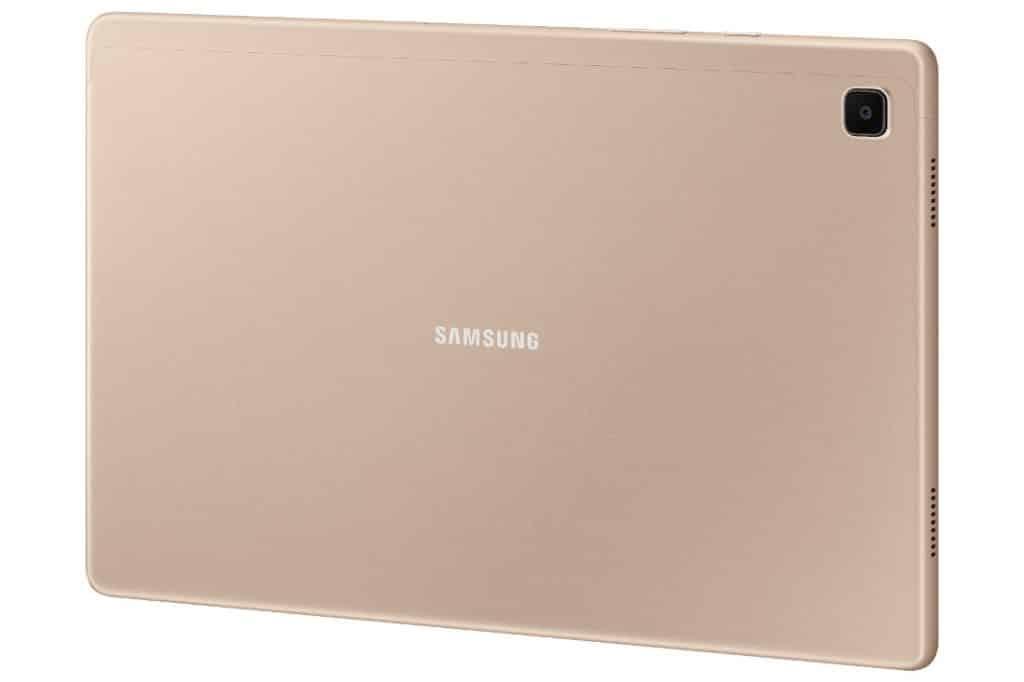 Samsung Galaxy Tab A7 back