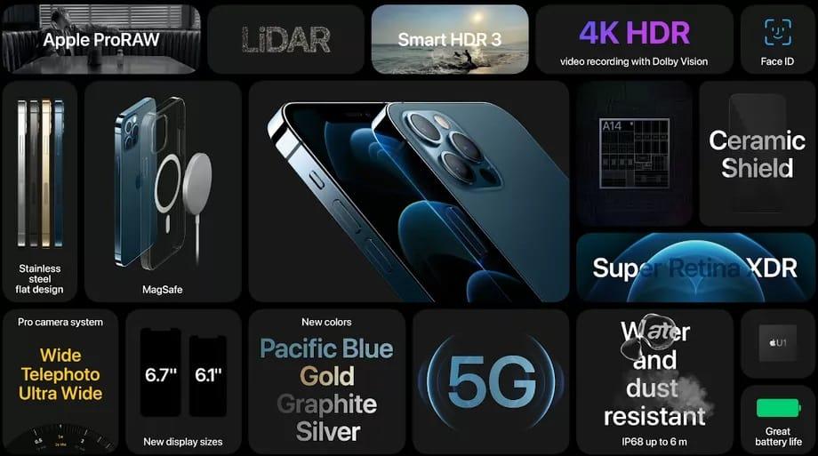 iphone 12 pro model