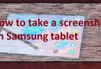 How to screenshot on Samsung tablet 2