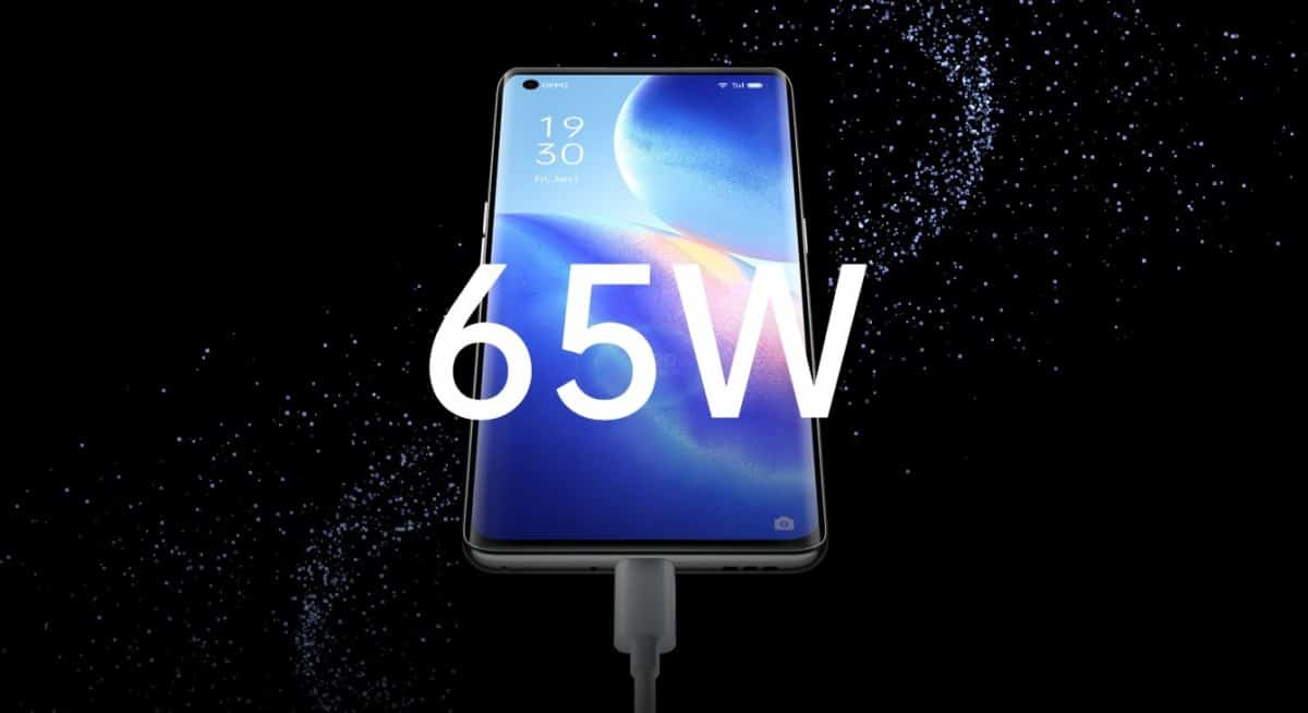 OPPO Reno 65W charging
