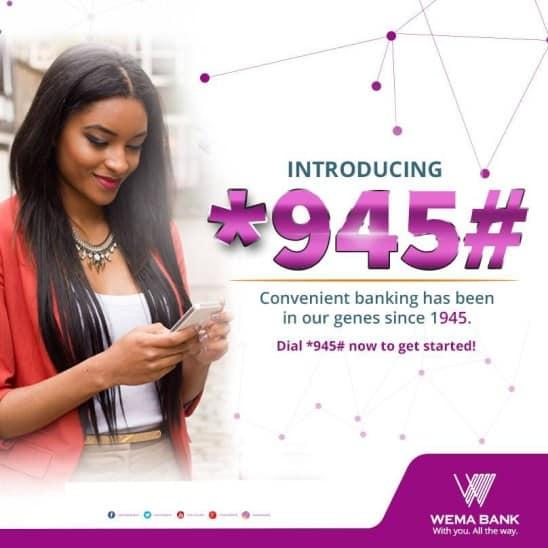 wema bank transfer code