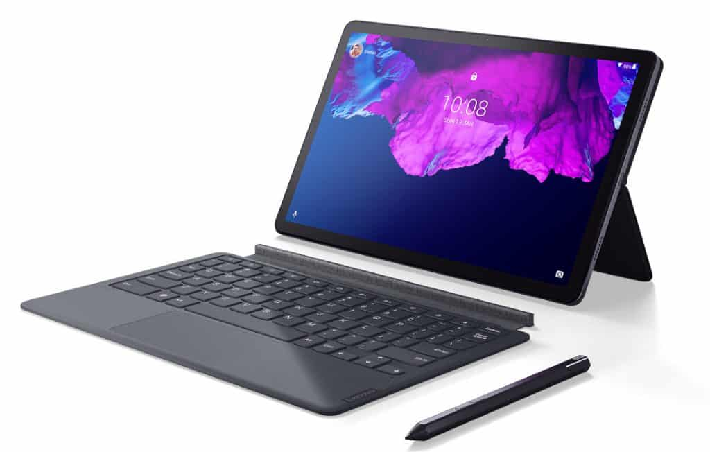 Lenovo Tab P11 tablet with keyboard
