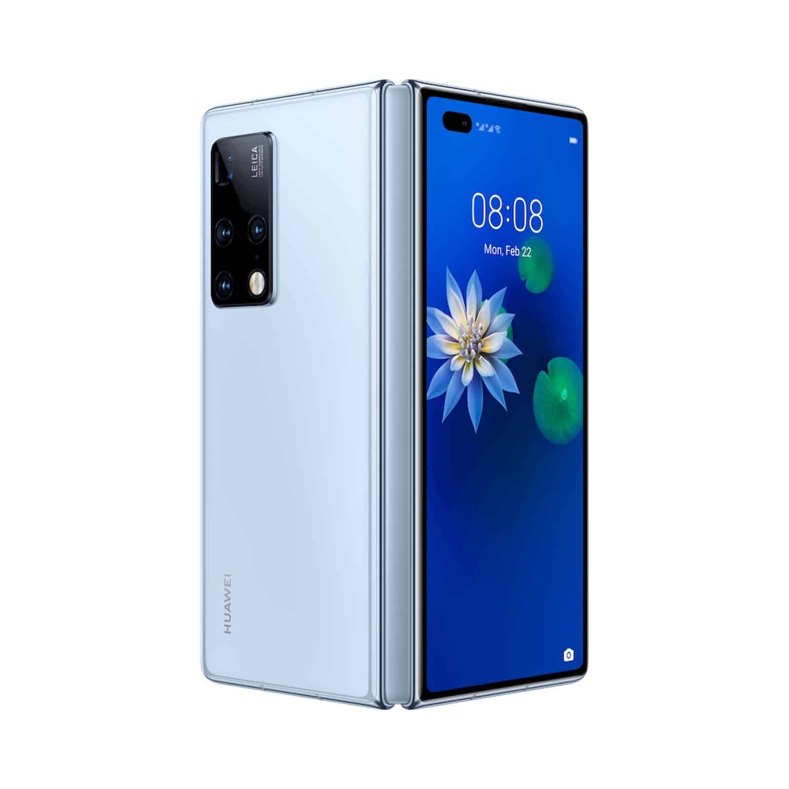 Huawei Mate X2 with foldable design