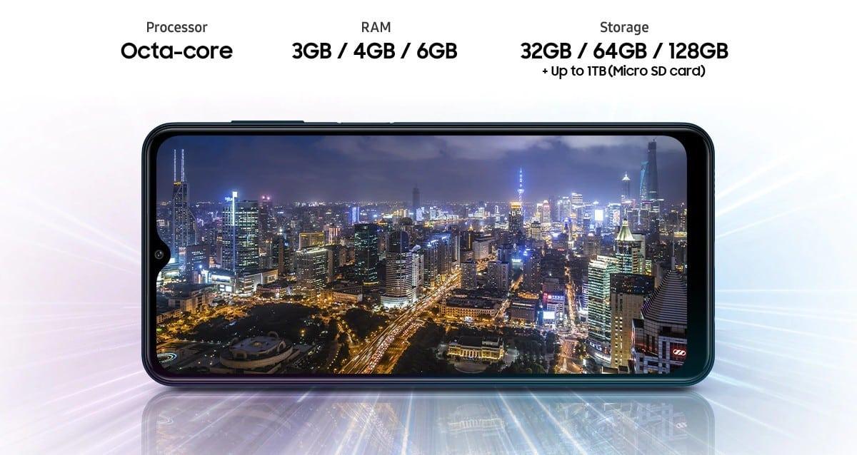 Samsung Galaxy M12 processor