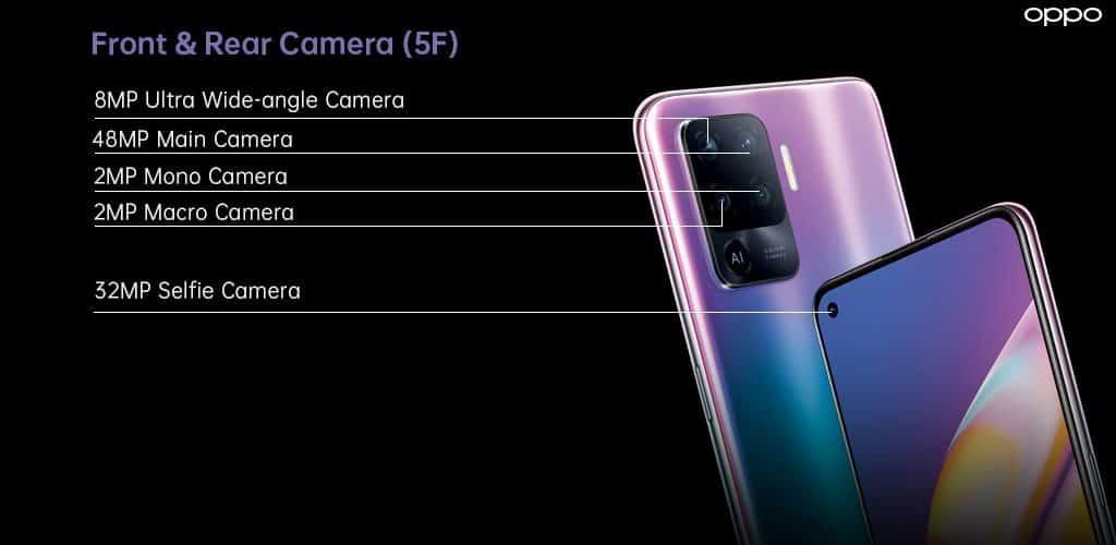 OPPO Reno5 F camera