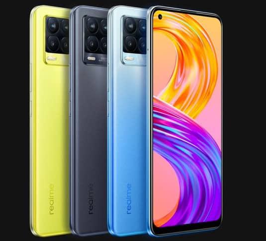 Realme 8 Pro colors options