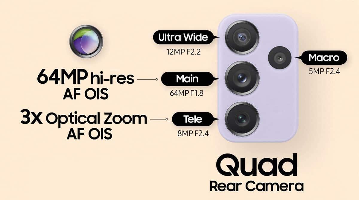 Samsung Galaxy A72 camera