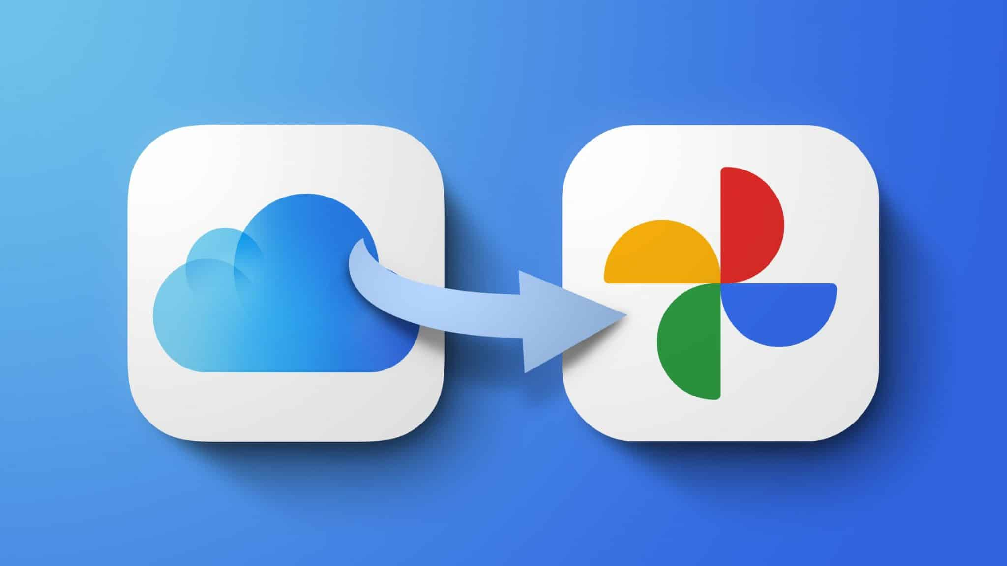 iCloud Photos to Google Photos