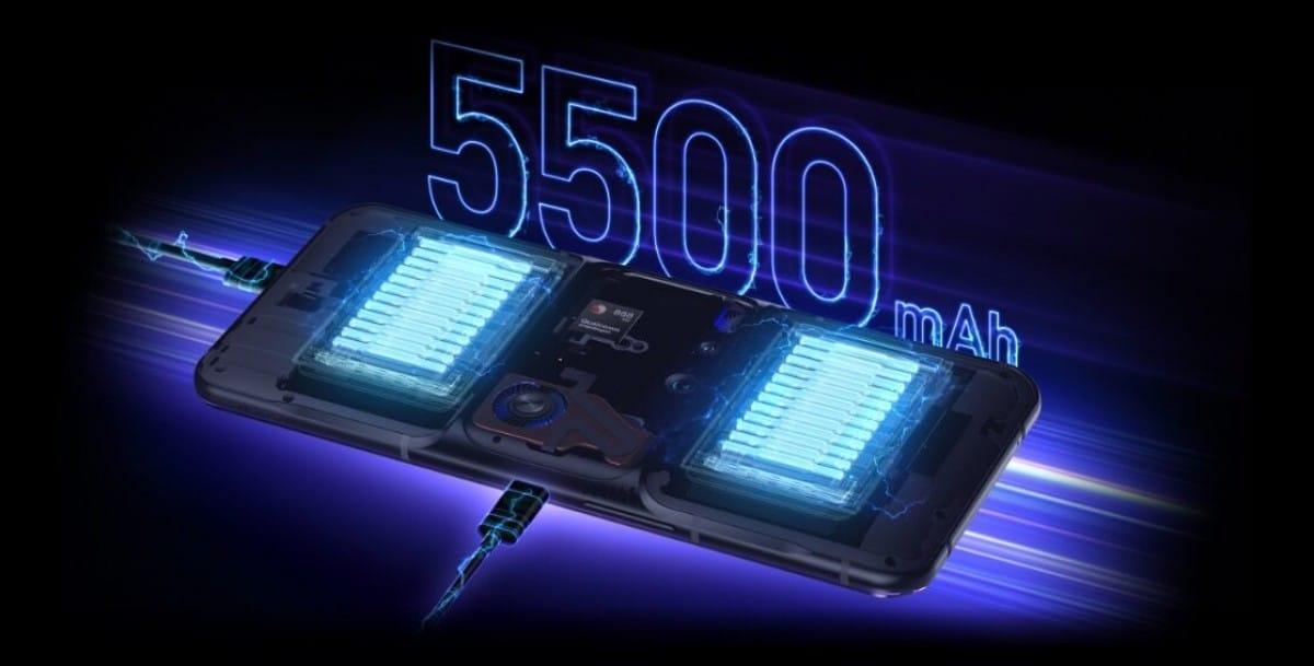 Lenovo Legion Phone Duel 2 battery