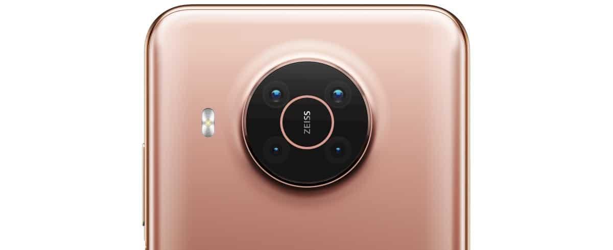 Nokia X10 camera
